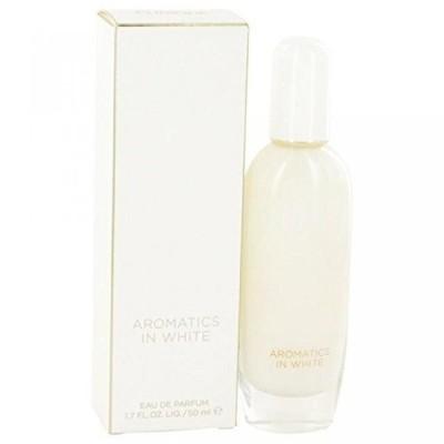 コスメ 香水 女性用 Eau de Parfum  Aromatics In White by Clinique Eau De Parfum Spray 1.7 oz for Women - 100% Authentic 送料無料