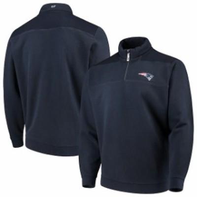 Vineyard Vines ヴィニヤード ヴァインズ スポーツ用品  Vineyard Vines New England Patriots Navy Shep Shirt Quarte