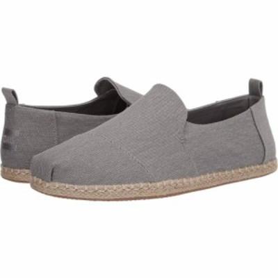 トムス TOMS メンズ ローファー シューズ・靴 Deconstructed Alpargata Rope Drizzle Grey