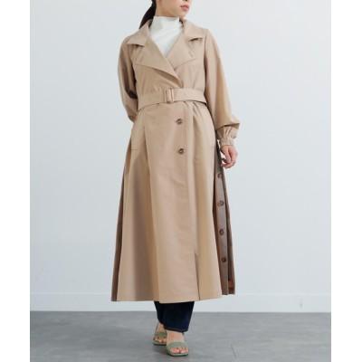 LADYMADE / サイドデザインフレアトレンチコート WOMEN ジャケット/アウター > トレンチコート