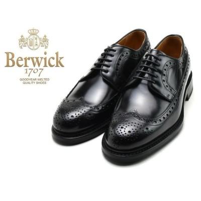 バーウィック ウィングチップ BERWICK 3681 K2 ブラック