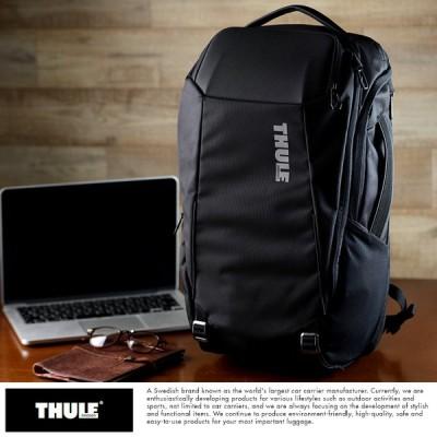 メンズ リュック ビジネス 通勤 THULE リュックサック Accent 28L ブラック  大人 おしゃれ シンプル 大きい 機能的