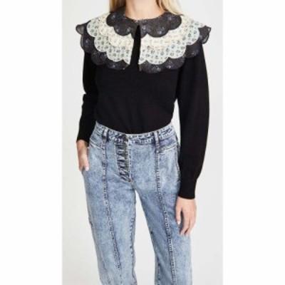 シー Sea レディース ニット・セーター トップス Ditsy Mix Sweater Black