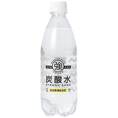 友桝飲料 強炭酸水 500ml×24本
