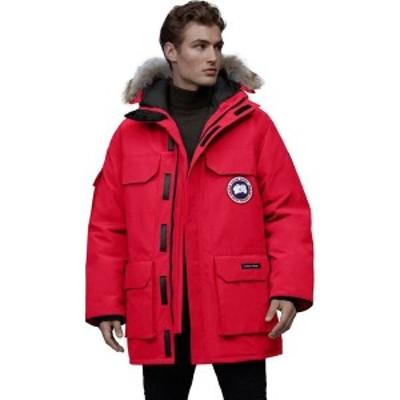 カナダグース メンズ ジャケット・ブルゾン アウター Expedition Down Parka Red