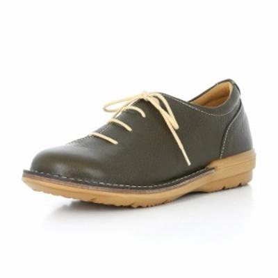 BIGSALE 送料無料 ムーンスター レディース コンフォートシューズ SLアワセ01 カーキ 国産 革靴 ライフスタイルカジュアル