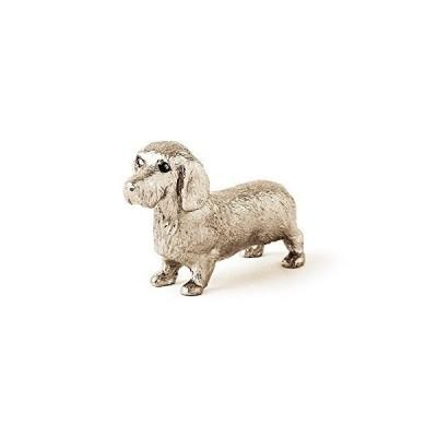 ダックスフンド(ワイヤー) イギリス製 アート ドッグ フィギュア コレクション