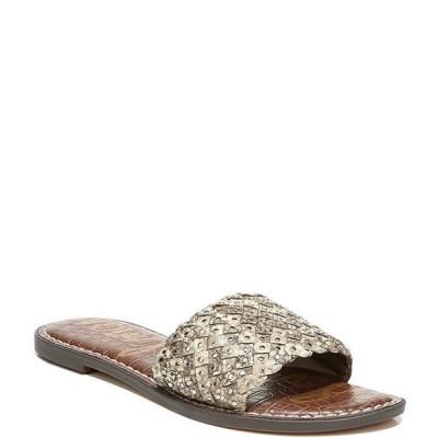 サムエデルマン レディース サンダル シューズ Geraldine Snake Print Leather Sandals