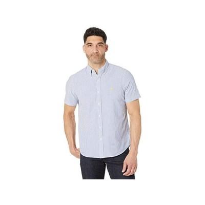 ポロ・ラルフローレン Classic Fit Seersucker Shirt メンズ シャツ トップス Blue/White