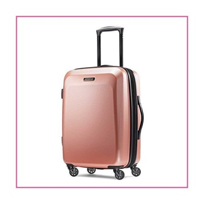 American Tourister Moonlight Hardside Expandable Luggage with Spinner Wheels, Rose Gold, Carry-On 21-Inch並行輸入品