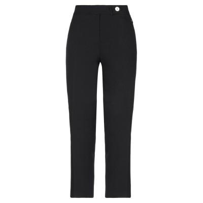 レ コパン LES COPAINS パンツ ブラック 50 コットン 95% / ポリウレタン 5% パンツ