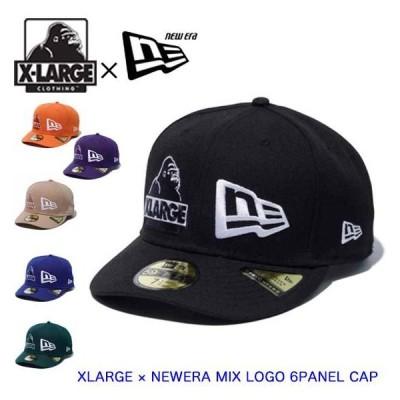 XLARGE エクストララージ キャップ ニューエラ XLARGE × NEWERA MIX LOGO 6PANEL CAP メンズ 帽子 101211051017