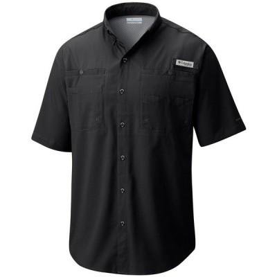コロンビア シャツ トップス メンズ Men's PFG Tamiami II Short Sleeve Shirt Black