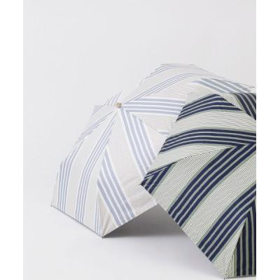 CALIFORNIA OUTFITTERS / ランダムストライプ折り畳み日傘(晴雨兼用) WOMEN ファッション雑貨 > 折りたたみ傘