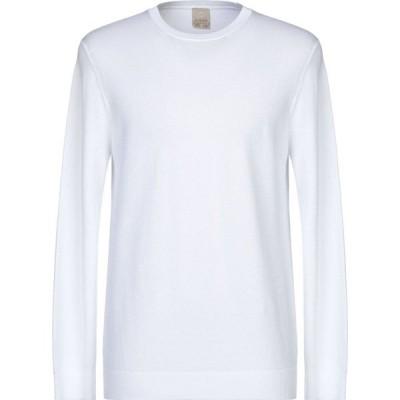 アッカ ノーヴェチンクエトレ H953 メンズ ニット・セーター トップス Sweater White