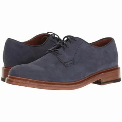 フライ 革靴・ビジネスシューズ Jones Oxford Indigo Soft Italian Nubuck