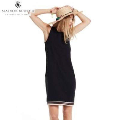 メゾンスコッチ MAISON SCOTCH 正規販売店 レディース ワンピース RAW EDGE DETAILS SWEAT DRESS 137423 2 NIGHT