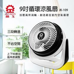 晶工牌 9吋 空氣循環風扇JK-109-庫