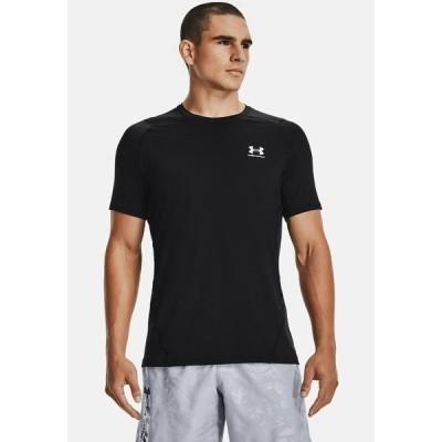 アンダーアーマー Tシャツ メンズ トップス ARMOUR FITTED - Print T-shirt - black