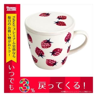 旬果 蓋付マグカップ イチゴ 51898