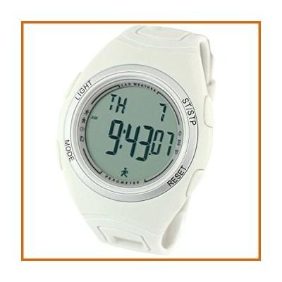 送料無料 LAD WEATHER 3D Pedometer Watch Activitiy Tracker Calories Counter Running Fitness Sports (Grey)