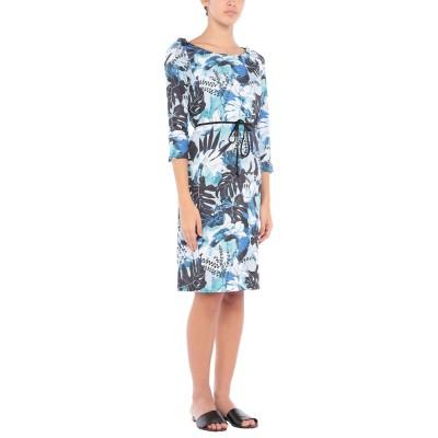 ブルマリン BLUMARINE ビーチドレス ブルー 42 ポリエステル 92% / ポリウレタン 8% ビーチドレス