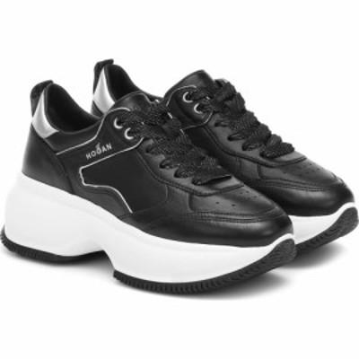ホーガン Hogan レディース スニーカー シューズ・靴 Maxi I Active leather sneakers Nero