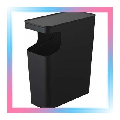 ブラック/サイドテーブル機能付き ゴミ箱 サイドテーブル ナイト