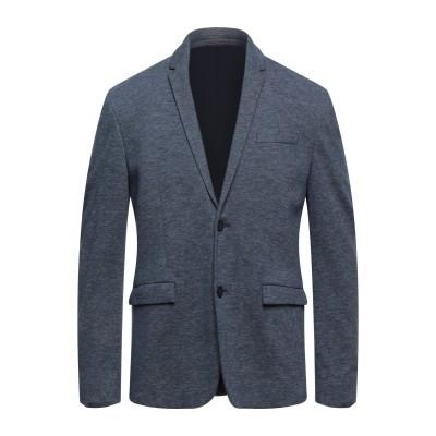 アレッサンドロデラクア ALESSANDRO DELL'ACQUA テーラードジャケット ブルーグレー 46 コットン 100% テーラードジャケット