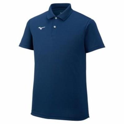 ミズノ 32MA967014XS ユニセックス ポロシャツ(ドレスネイビー・サイズ:XS)MIZUNO[32MA967014XS] 返品種別A