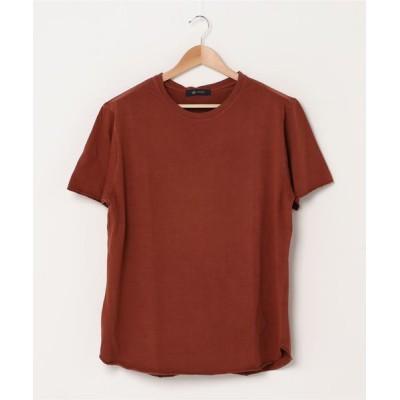 nano・universe / :ラウンドピグメントTシャツ/半袖 MEN トップス > Tシャツ/カットソー