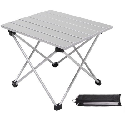 NOT Home アウトドア 用 テーブル アルミテーブル 折りたたみ 組み立て簡単 軽量 頑丈 フォールディング キャンプ
