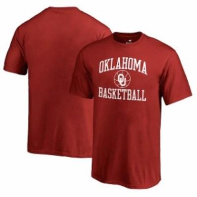Fanatics Branded ファナティクス ブランド スポーツ用品  Fanatics Branded Oklahoma Sooners Youth Crimson In Bounds T-Shirt