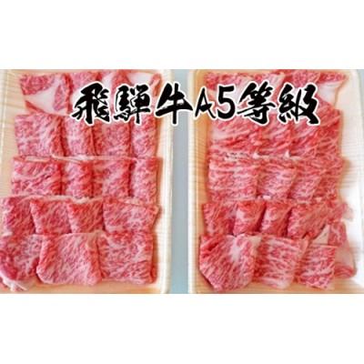 A5等級飛騨牛焼き肉用1kg ロース又は肩ロース肉