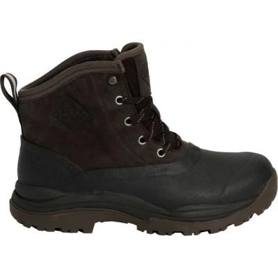 マックブーツ Muck Boots メンズ ブーツ ウインターブーツ シューズ・靴 Arctic Outpost Lace Arctic Grip Waterproof Winter Boots Brown