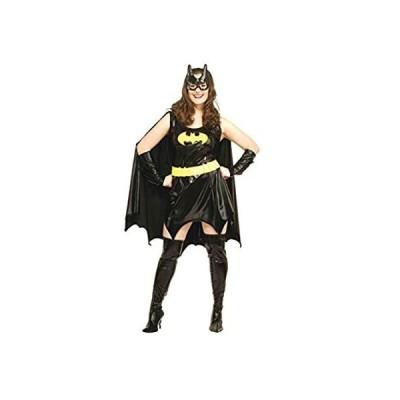 Secret Wishes Women's DC Comics Deluxe Batgirl Costume, As Shown, Plus
