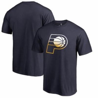 Fanatics Branded ファナティクス ブランド スポーツ用品  Fanatics Branded Indiana Pacers Navy Gradient Logo T-Shi