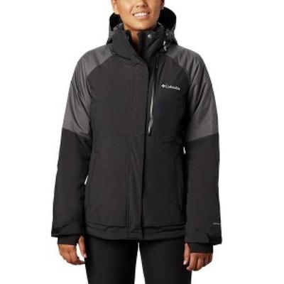 コロンビア レディース ジャケット・ブルゾン アウター Columbia Women's Wildside Jacket Black / Black Diamond Texture