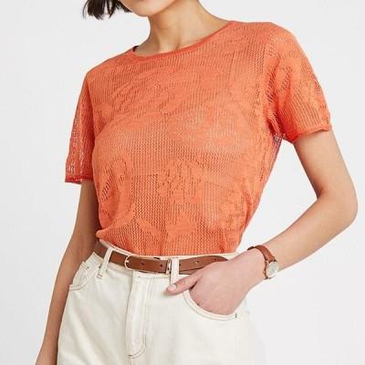 レディース Tシャツ LIGHT - Print T-shirt - orange