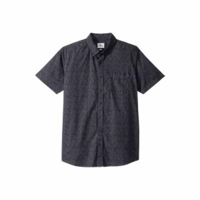 リップカール Rip Curl メンズ 半袖シャツ トップス Dark Paradise Short Sleeve Shirt Charcoal