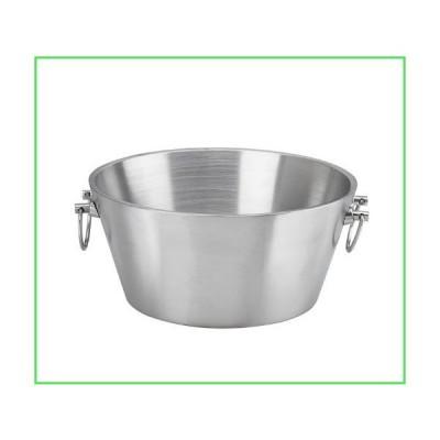 【全国送料無料】Kraftware 71220 Brushed Stainless Steel 15 Inch Doublewall Insulated Party Tub【並行輸入品】
