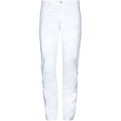 VERSACE JEANS パンツ ホワイト 30 コットン 97% / ポリウレタン 3% パンツ