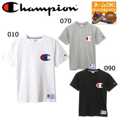 ネーム刺繍OK チャンピオン メンズ Tシャツ ビッグロゴ C3R304