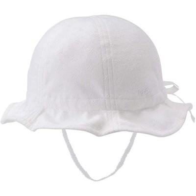 [ミキハウス ホットビスケッツ] 帽子 72-9102-450 (S(48-50cm), 白)