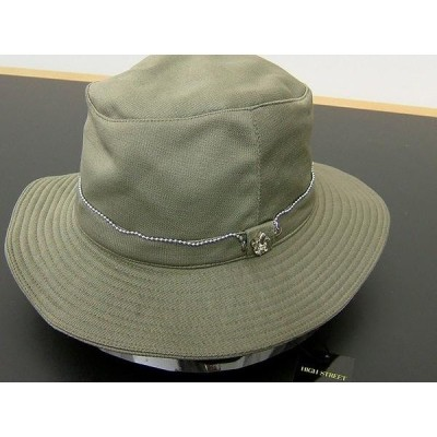 ハイストリート 帽子 ハット 緑 グリーン 新品