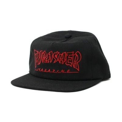 THRASHER  CAP  CHINA BANKS snapback    BLACK(黒)   (スラッシャー)(キャップ)