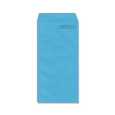 ヘイコー カラー 封筒 長3 ブルー 100枚入 007528003
