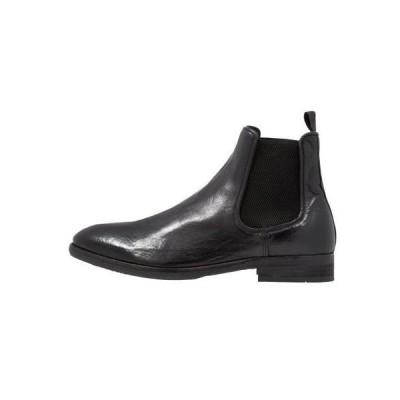 ハドソンロンドン メンズ 靴 シューズ KIRCHNER - Classic ankle boots - black