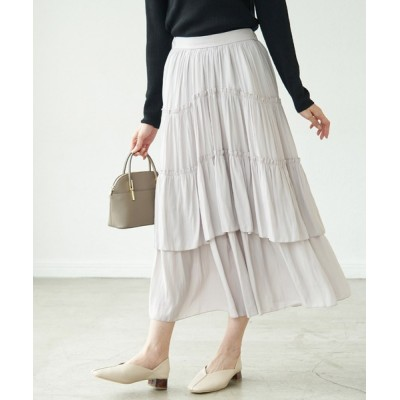 ROPE' PICNIC / ティアードフリルスカート WOMEN スカート > スカート