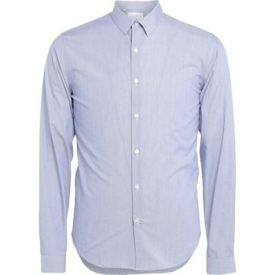 サンドロ SANDRO メンズ シャツ トップス Striped Shirt Azure